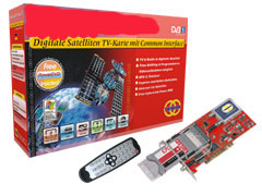 satellite tv cards