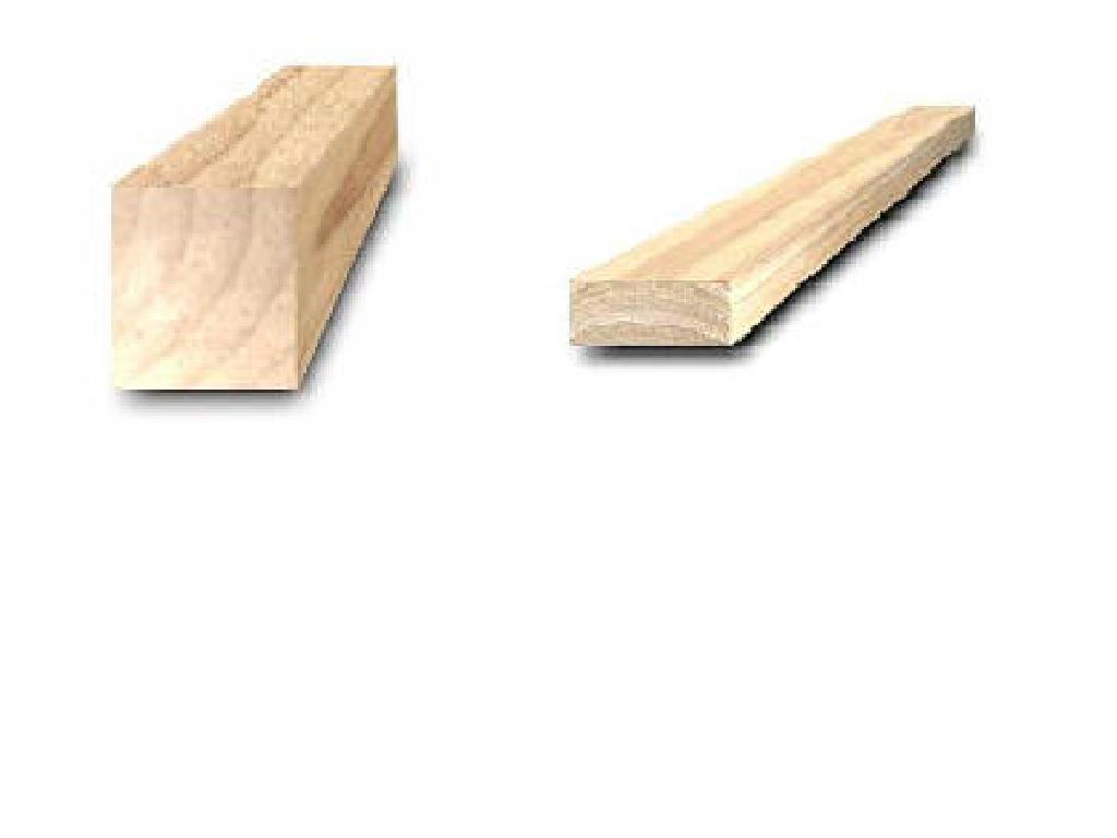 Sawn timber rubberwood