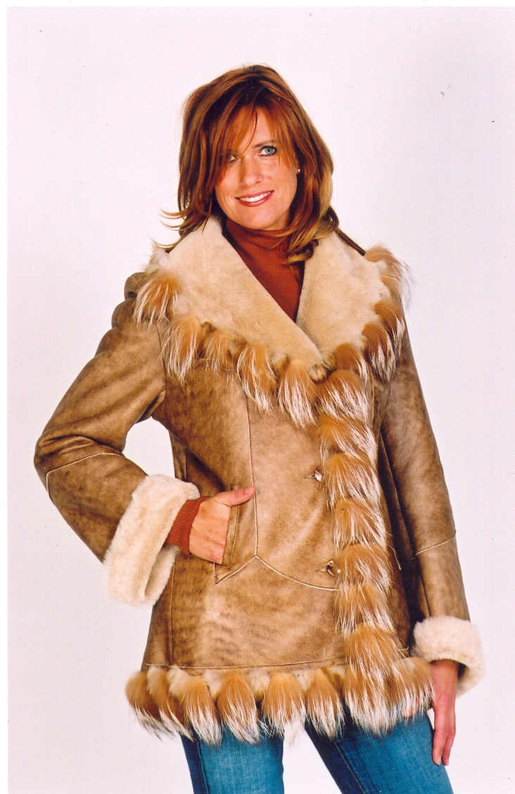 Shearling, Double Face, Fur, Leather Jacket