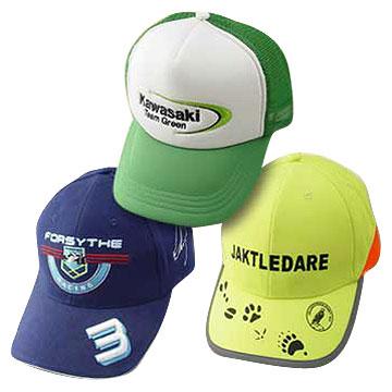 Six-Panel Sport/Premium Caps