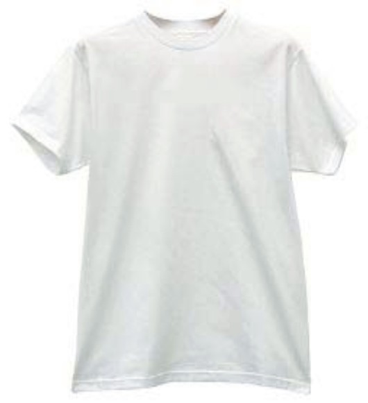 White crew neck t shirts for Crew neck white t shirt