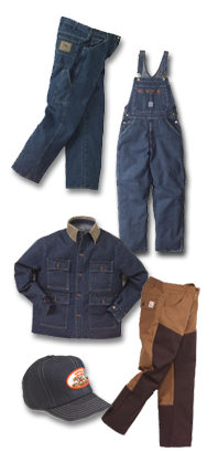 Workwears, Overalls, Coveralls, Work Clothes, Caps, T-shirts