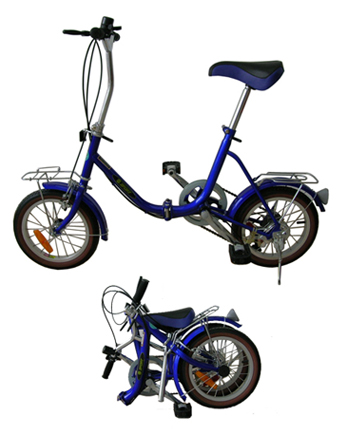 bicycle helmets: Zport Folding Bicycle