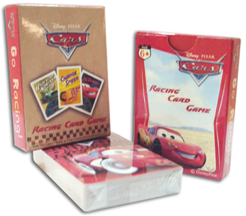 Sell Cars-Disney Playing Cards