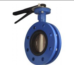 sell U-section double flanged butterfly valve