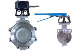 sell Soft Sealing Double Eccentric Butterfly Valve