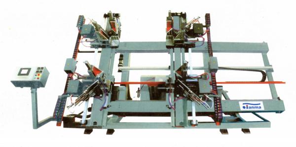 Sell CNC Vertical Four-point Weldingwindow  Machine