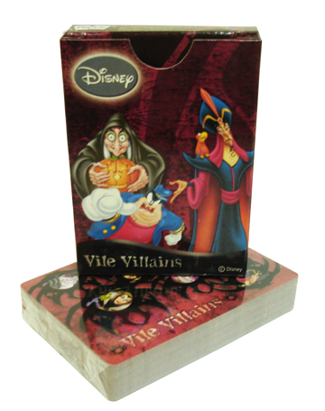 Sell Vile Villians Playing Cards