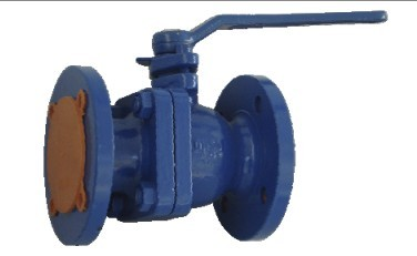 sell Cast or ductile iron 2-pc ball valve