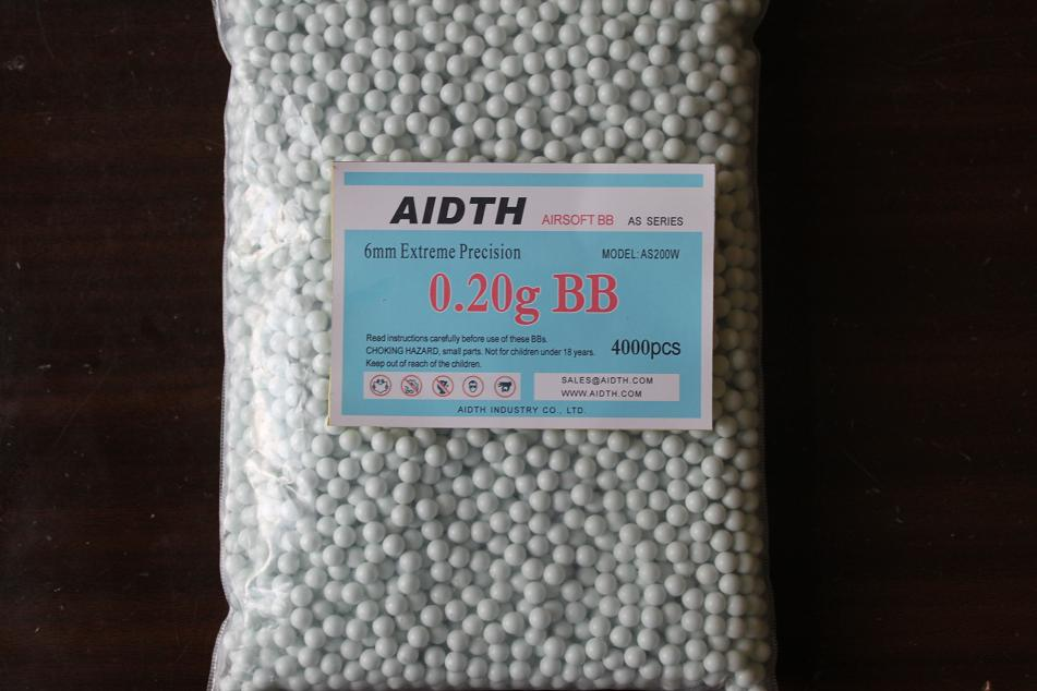 Buy airsoft BBs 6mm 0.20g , Bio BBs