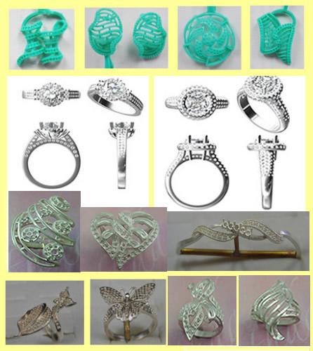jewellery model rubber mold ,jewellery model,rubber mold
