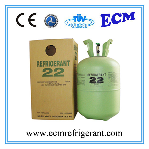 Refrigerant Gas R22 with Neutral Can Packing