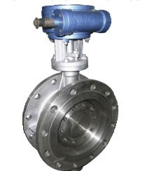 sell Three-eccentric center butterfly valve